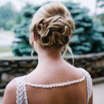 bridal updo - back 2