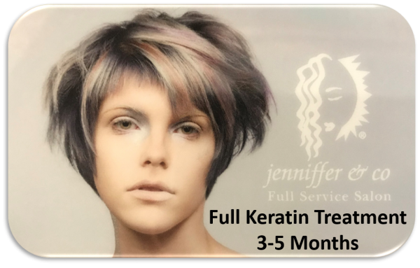 Keratin Treatment 3-5 Months