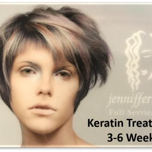 Keratin Treatment 3-6 Weeks